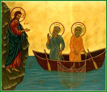 Jesús resucitado se aparece a los discípulos a orillas del mar