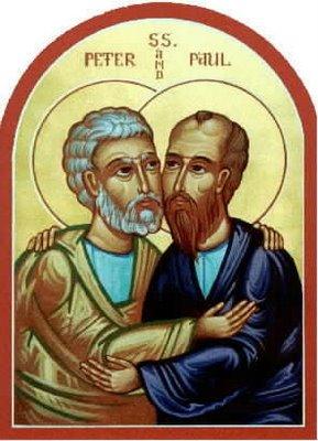 Ortodoxos Apóstoles San Pedro y San Pablo 001