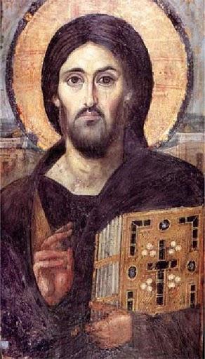 Pantocrator del Monasterio de Sinaí